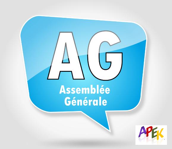Assemblée Générale de l'APEK