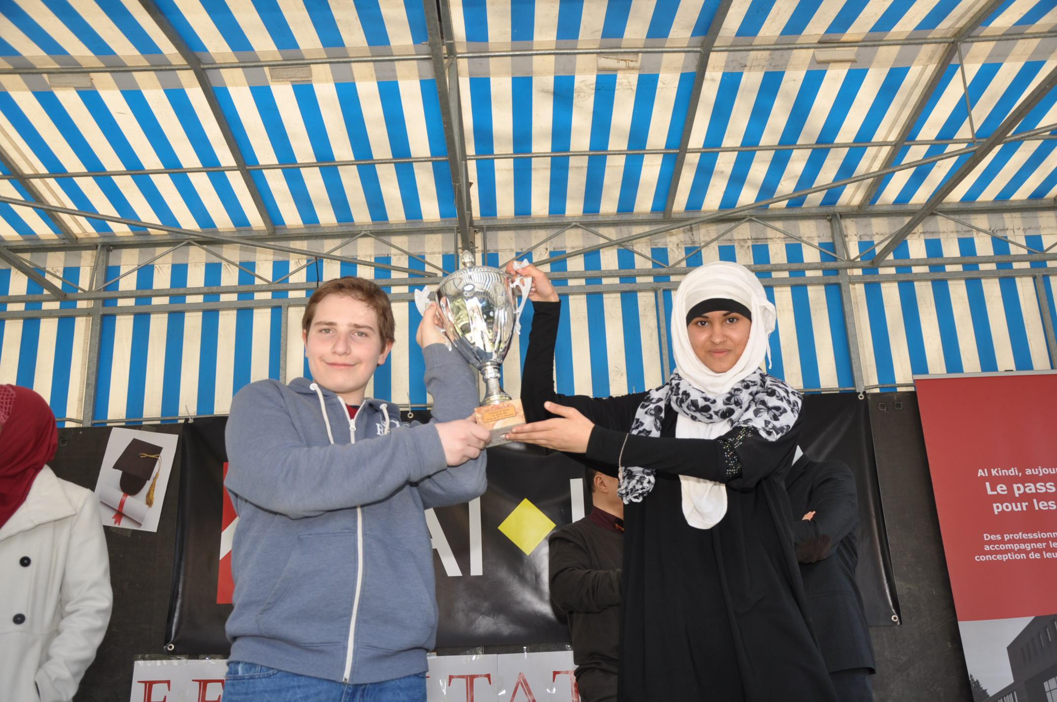 Fiertés des finalités du concours de dictée- Mars 2015