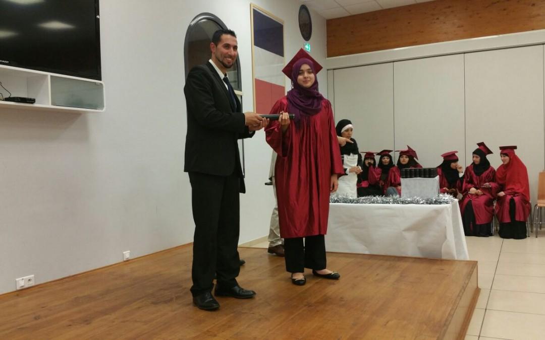 Soirée de remise des diplômes du baccalauréat 2015