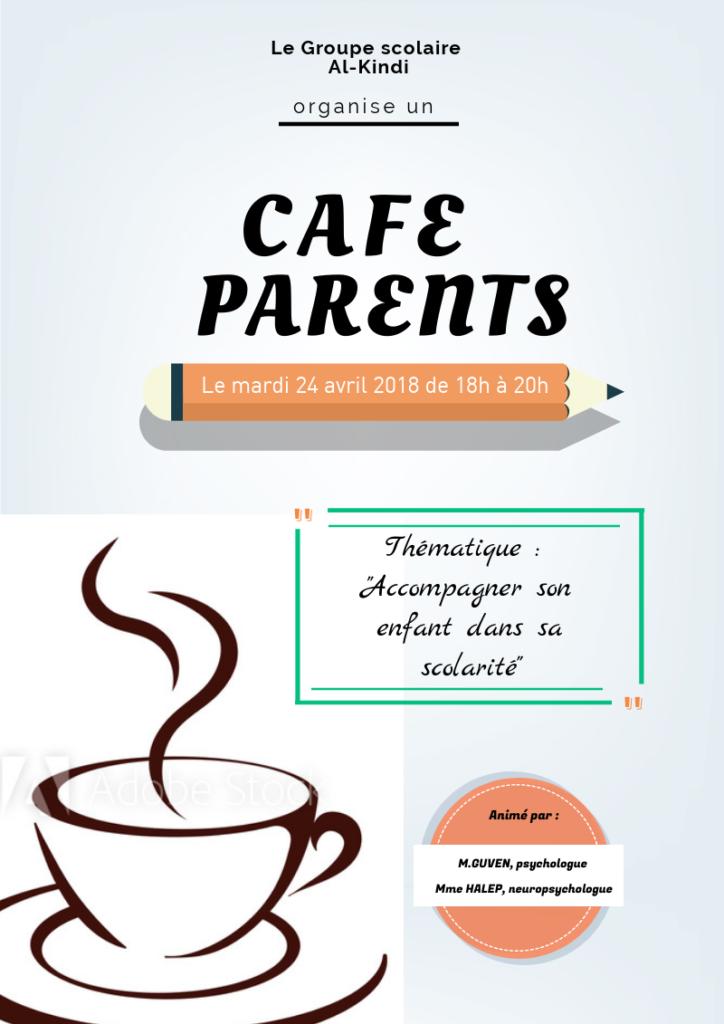 Affiche café-parents format A4 3