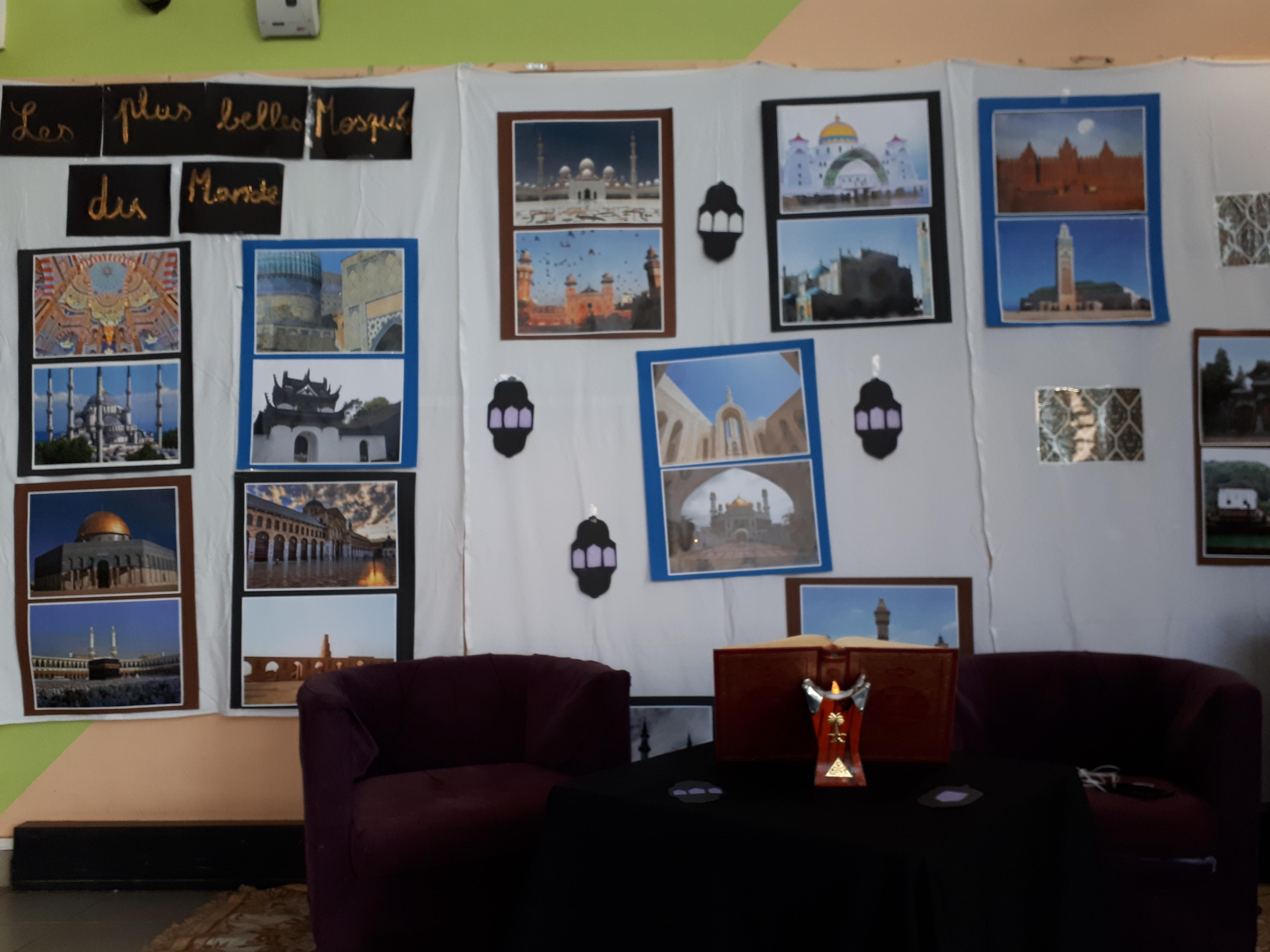 Exposition sur les plus belles mosquées du monde