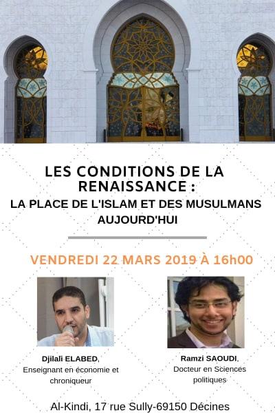 Conférence les conditions de la renaissance_22 mars