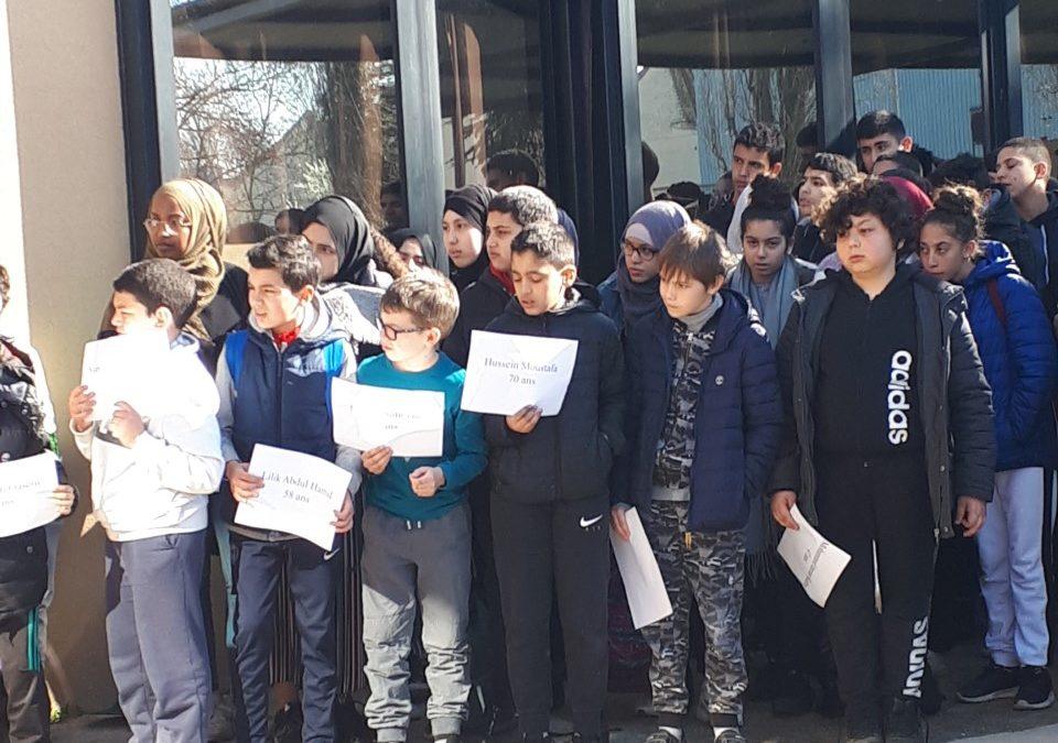 Hommage aux victimes de Christchurch