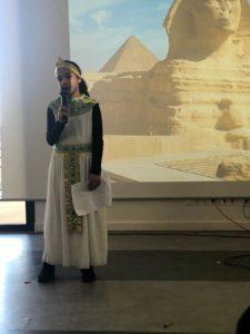 Récitation de poésie sur l'Egypte-Classe de Mme Belanouane