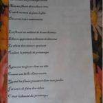 Poésie rédigée et illustrée par Sirine Aouasi