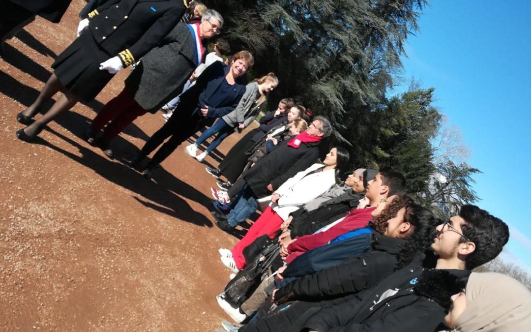 Participation à la cérémonie d'hommage aux victimes du terrorisme