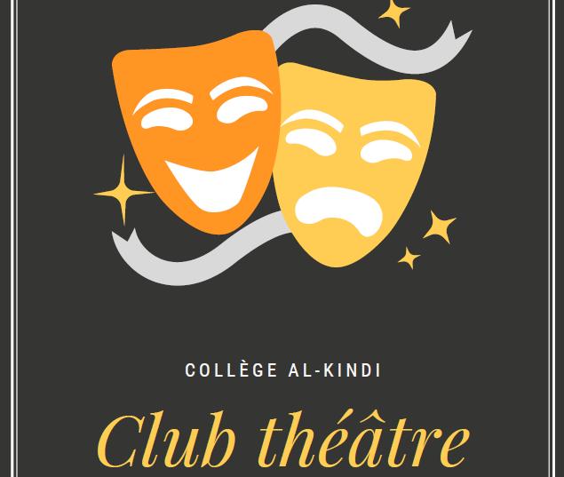 Atelier théâtre pour les collégiens