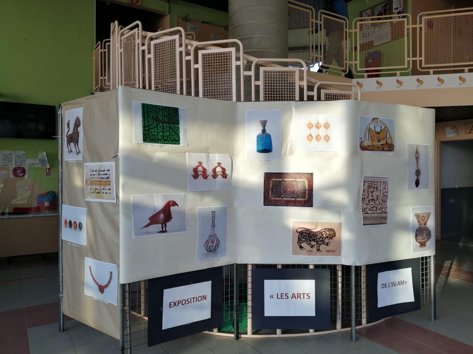 Retranscription de l'exposition de l'IMA sur les Arts de l'Islam
